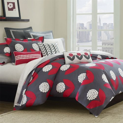 Echo Lucy Bloom Duvet - Multi - Full/Queen