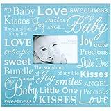 """Baby Expression Post Bound Scrapbook Album 12""""X12""""-Blue"""