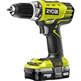 Advanced Royobi ProGrade RCD18021L ONE  18v Cordless Compact Drill Driver with 1 Lithium Ion Battery 1.3ah [Pack of 1] --