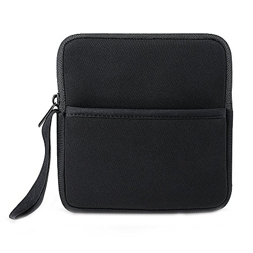 VicTsing Borsa Portatile per Lettori DVD e CD Blu-Ray Esterna Custodia Protettiva Con Extra Tasche di Stoccaggio per Apple MD564ZM/A USB 2.0 SuperDrive / Apple Magic Trackpad / SE-208GB SE-208DB SE-218GN SE-218CB / LG GP50NB40 GP60NS50 / ASUS Masterizzatore DVD Esterno and Altri Dischi Rigidi Esterni, Nero