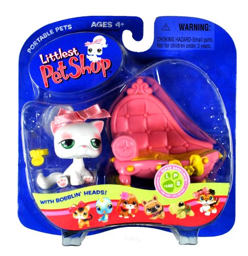 Hasbro Year 2006 Littlest Pet Shop Portable Pets 