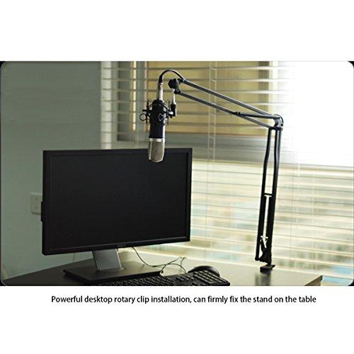 Foxnovo Dauerhafte Rundfunk Studio Mikrofon Arm Ständer - 6