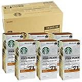 (箱まとめ買い)スターバックス「Starbucks(R)」 6箱(9.8g×5袋×6) パーソナルドリップコーヒー パイクプレイスロースト