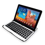 Sharon Samsung Galaxy Tab 10.1 10.1N P7500 P7510 Samsung Galaxy Tab 2 10.1 P5100 Aluminium Case Cover Stand with Integrated Bluetooth Keyboard ***NOT COMPATIBLE WITH NOTE 10.1***