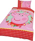 Character World Peppa Pig Polka Dot Panel Duvet Set, Single