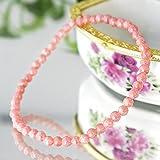 愛の石 AAAAA インカローズ ブレスレット 7月 誕生石 恋愛 結婚 薔薇色の人生 パワーストーン