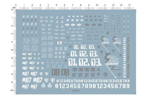 msz-007 z 006 karaba zeta カラバゼータ 量産型 小松原 デカール水転写式 「並行輸入品」
