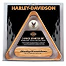 Harley Davidson 3 Piece Billiard Starter Set