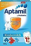 Aptamil Kindermilch 1+ ab 1 Jahr, 4er Pack (4 x 600 g)