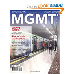 MGMT4 (with Management CourseMate with eBook Printed Access Card) (9781111221317)
