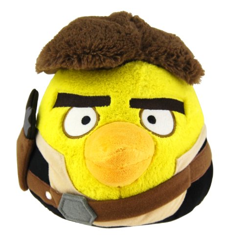 "Angry Birds 8"" Star Wars Plush - Hans Solo - 20cm Stofftier - aus USA"