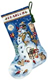 Dimensions Needlecrafts Counted Cross Stitch, Snowman And Friends