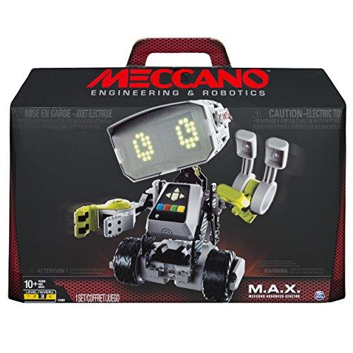 메카노 맥스 로봇, 해외인공지능 스마트 작동 로봇 (조립 키트 프로그래밍) Meccano-Erector M.A.X Robotic Interactive Toy,Standard Packaging