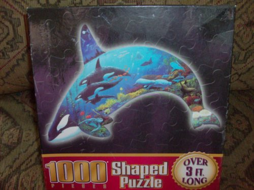 1000 Piece Shaped Puzzle king of the ocean