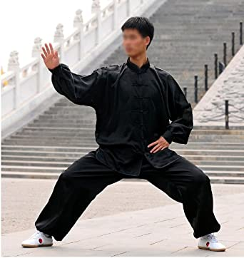 Amazon.com: Tai Chi Uniform (Clothing) - Black, White and Red