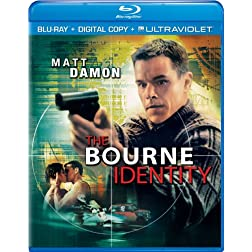 The Bourne Identity (Blu-ray + Digital Copy + UltraViolet)
