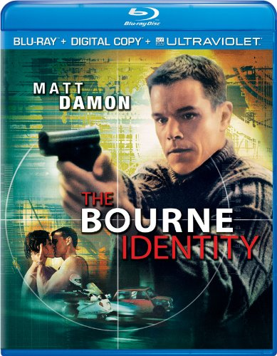 The Bourne Identity (Blu-Ray + Digital Copy + Ultraviolet)