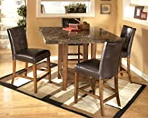 Big Sale Lacey Square Counter Height Dinette Set