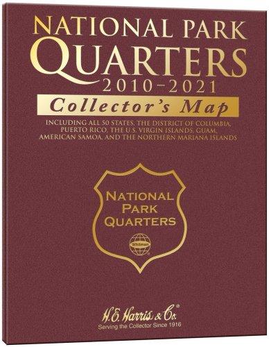 National Park Quarter Collectors Map [Whitman Publishing] (Tapa Dura)