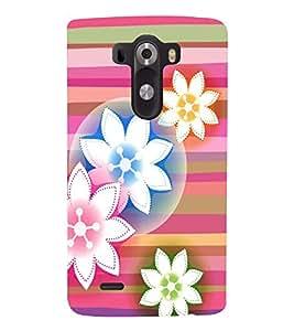 PRINTSWAG FLOWER PATTERN Designer Back Cover Case for LG G3