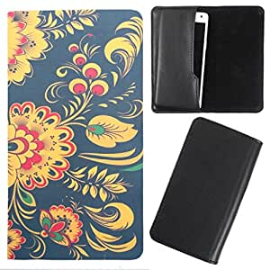 DooDa - For Intex Aqua Star 2 HD PU Leather Designer Fashionable Fancy Case Cover Pouch With Smooth Inner Velvet