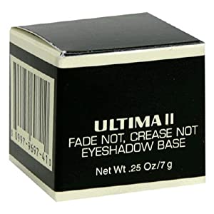 Ultima II Eye Shadow Base, Fade Not, Crease Not, 0.25 oz