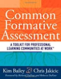 img - for Common Formative Assessment: A Toolkit for Professional Learning Communities book / textbook / text book