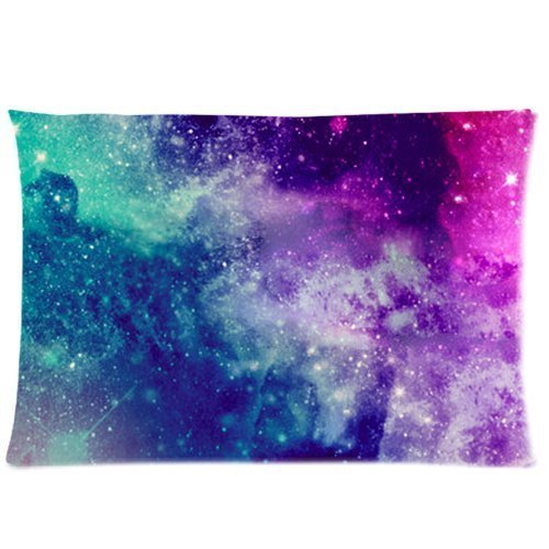 universe-space-nebula-galaxy-pattern-custom-zippered-bed-pillow-cases-20x30-twin-sides