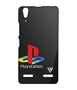 Vogueshell Playstation Printed Symmetry PRO Series Hard Back Case for Lenovo A6000
