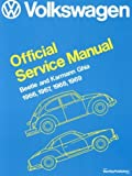 Image of Volkswagen Beetle and Karmann Ghia Service Manual, Type 1: 1966, 1967, 1968, 1969 (Volkswagen Service Manuals)