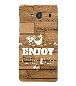 Ebby Premium Printed Mobile Back Case Cover With Full protection For Xiaomi Redmi 2 Prime (Designer Case)