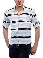 Philip Loren Camisa Hombre (Blanco / Azul)