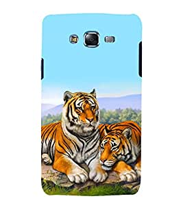 printtech Nature Animal Tiger Back Case Cover for Samsung Galaxy J5 / Samsung Galaxy J5 J500F