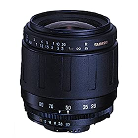 Tamron AF 28-80mm f/3.5-5.6 Aspherical Lens for Canon Digital SLR Cameras
