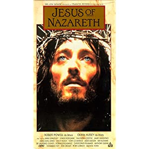 Amazon.com: Jesus of Nazareth [VHS]: Robert Powell, Olivia Hussey ...