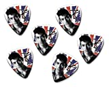 Alex Turner Arctic Monkeys 6 X Loose guitar Picks ( Flag Design )