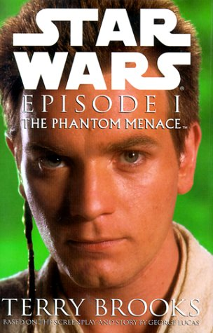 Star Wars, Episode I - The Phantom Menace. Darth Maul on Cover., TERRY BROOKS