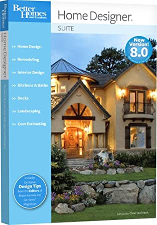 Better Homes and Gardens Home Designer Suite 8.0  [OLD VERSION]