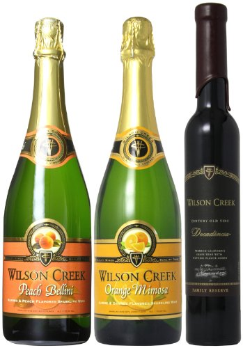 Wilson Creek Sweet Sparkling Mixed Pack, 2 X 750 Ml And 1 X 375 Ml