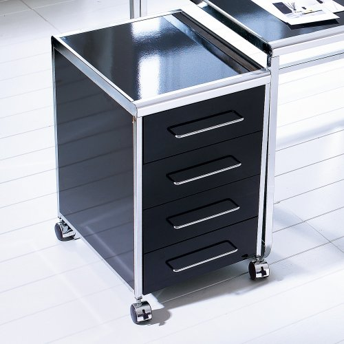 schreibtisch rollcontainer metall com forafrica. Black Bedroom Furniture Sets. Home Design Ideas