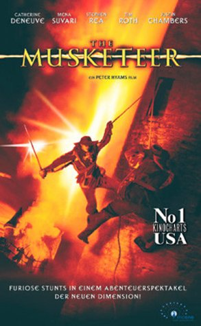 The Musketeer [VHS]