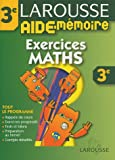 Aide-M�moire : Exercices de maths, 3�me