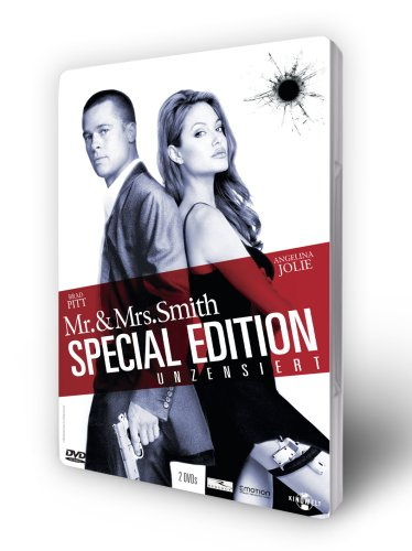Mr. & Mrs. Smith - Unzensiert (Steelbook) [Special Edition] [2 DVDs]