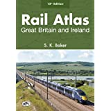 Rail Atlas Great Britain and Ireland 12th editionby S. K. Baker