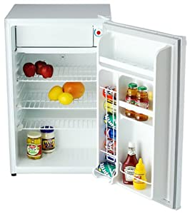 Amazon Com Danby Deluxe Mini Fridge With Freezer 4 3cu