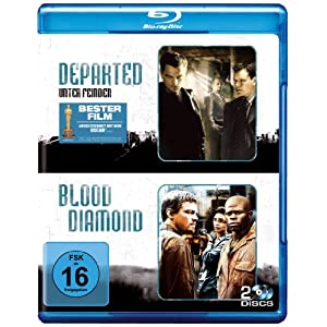 Blu rays billig The Departed und Blood Diamond