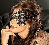 Amazon.co.jpFUT(エフュ ト) コスプレ仮面ブラックレース折りたたみ透かし彫り変身パーティーマスク