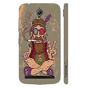 Asus Zenfone Go Ganja Babe designer mobile hard shell case by Enthopia