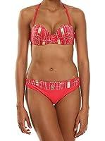 AMATI 21 Bikini 670-161 1Rg Coral / Blanco / Bronce ES 40