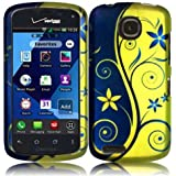 Vintage Vines Hard Case Cover Premium Protector for Pantech Marauder ADR910L (by Verizon) with Free Gift Reliable Accessory Pen